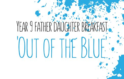 Year 9 Father Daughter Breakfast WEB
