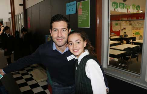 Year 3 and Kindy father daughter breakfast WEB