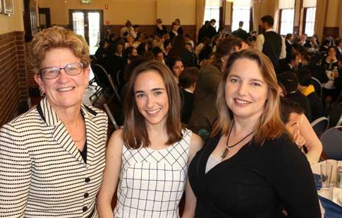 Julia Macdonald with J Poole and Kim Bonniface